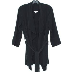 Cabi Cardigan A La Carte Tie Black Medium L1